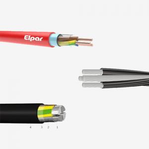 Jėgos ir instaliaciniai kabeliai